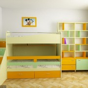 Children's Room in 3D