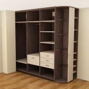 Шкафы купе в 3D